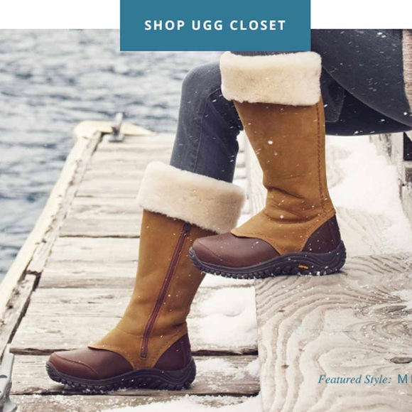 3c2984bcd1e 🎁NEW UGG MIKO CHESTNUT waterproof